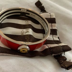Henri bendel red bangle with tags
